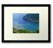 Cala Llonga Bay III Framed Print