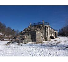 Snow Blue Sky Photographic Print