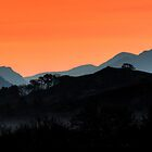 Sunrise Recession 1a - West Highlands by David Hutcheson