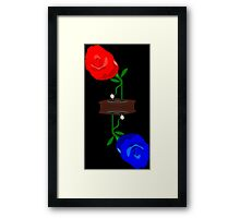 Rosaphones Framed Print