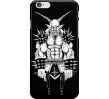 Goatlord Vengeance Black iPhone Case/Skin