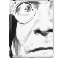 1st Doctor Close Up Sketch iPad Case/Skin