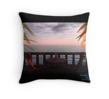 Peaceful Waters Throw Pillow
