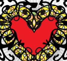 An ace in hearts Sticker