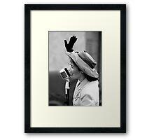 For Ken 1940's (G)Lamour B&W Framed Print