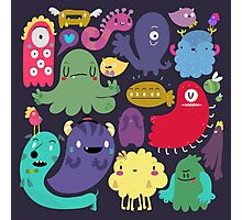 Colorful Creatures Photographic Print