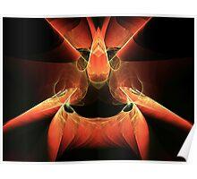 Firebird Escher  (UF0225) Poster