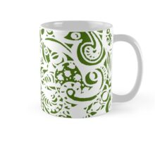 Circle 7 - Aussie Tangle White - see description re background colour options Mug