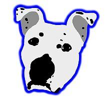 Pit Bull Head Logo by ShelterStaffie