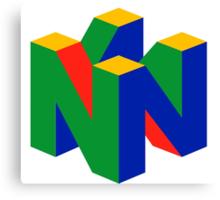 N64 Canvas Print