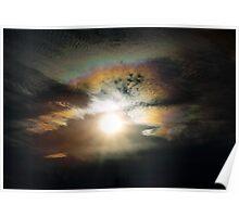 Iridescent Cloud Poster