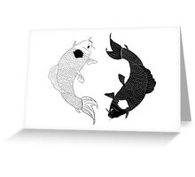 Koi Spirits Greeting Card
