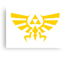 Triforce Emblem Canvas Print