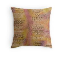 Magic the Child's Eye  Throw Pillow