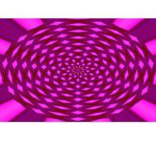 Pink Web Photographic Print