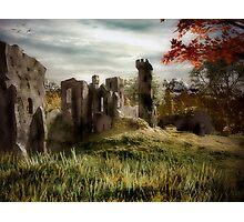 RavenShield Abby Ruins Photographic Print