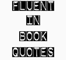 Fluent in Book Quotes Men's Baseball ¾ T-Shirt
