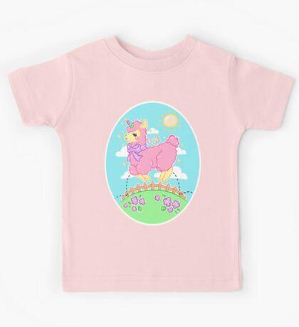 Alpaca Unicorn! Kids Tee