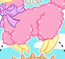 Alpaca Unicorn! Sticker