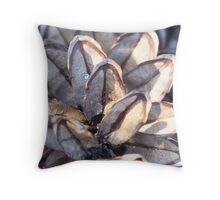 Pine lines Throw Pillow