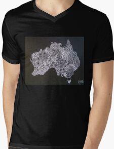 AUSTRALIA Mens V-Neck T-Shirt