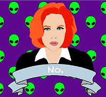 Scully Says  by IzzyDora