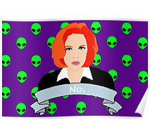 Scully Says  Poster