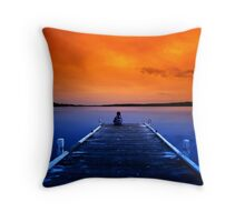 Come Into My World Throw Pillow