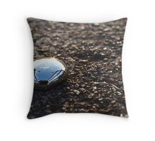 Fluid Reflection Throw Pillow