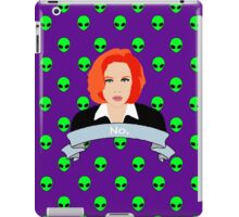 Scully Says  iPad Case/Skin