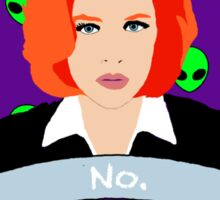 Scully Says  Sticker