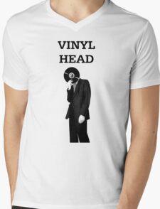 Vinyl Head Mens V-Neck T-Shirt