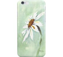 One White Daisy iPhone Case/Skin