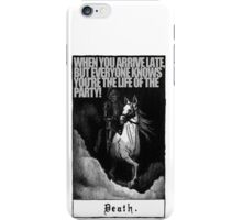 Hold My Steed. iPhone Case/Skin