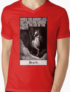 Hold My Steed. Mens V-Neck T-Shirt