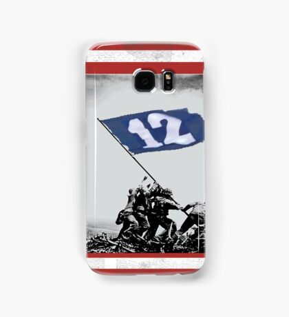 12th Man Raise the Flag Samsung Galaxy Case/Skin