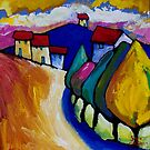 ROAD  INTO  ANGLESEA by ART PRINTS ONLINE         by artist SARA  CATENA