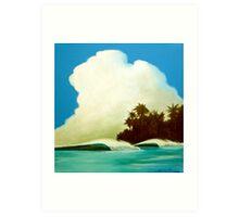 Summer Cloud 1 Art Print