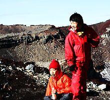 Mt. Fuji Kids by Greg Hughes