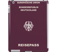 German Passport iPad Case/Skin