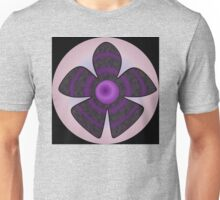 purple and black flower T-Shirt