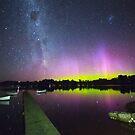 Aurora Australis, Lymington, Tasmania by Chris Cobern