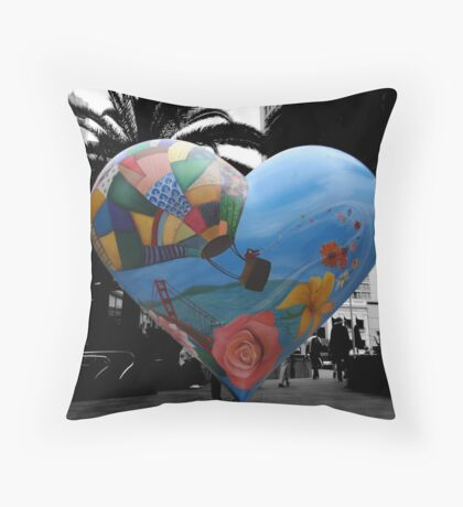 union heart Throw Pillow