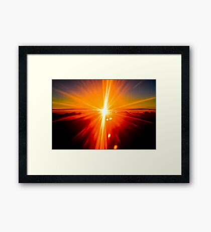 Feeling good Framed Print