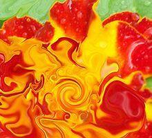 crazy marigold  by Michelle BarlondSmith