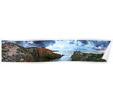 Pano Seascape Poster
