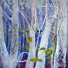 Guardians of the Forest on Canvas by Joy Engelman