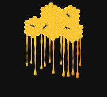 Honey bee hive with honey drip Unisex T-Shirt