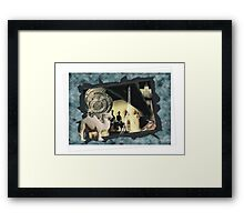 Welcome to voyage Framed Print