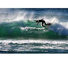 Emerald Surfer Photographic Print